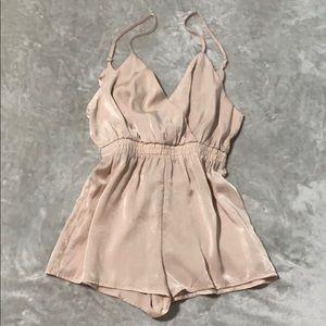 Naked Wardrobe Silky Romper